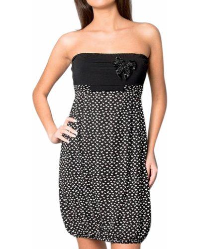 Платье из полиэстера - черное Verysimple