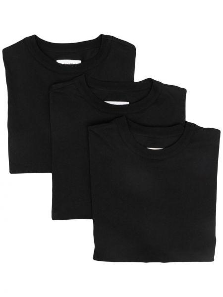 Хлопковая футболка - черная Ck Calvin Klein