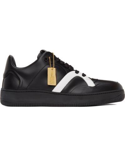 Białe sneakersy skorzane koronkowe Human Recreational Services
