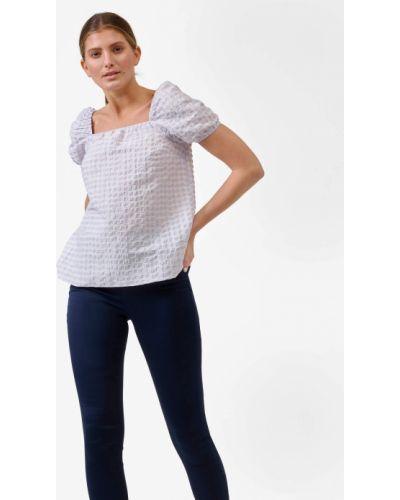 Fioletowa bluzka z wiskozy Orsay