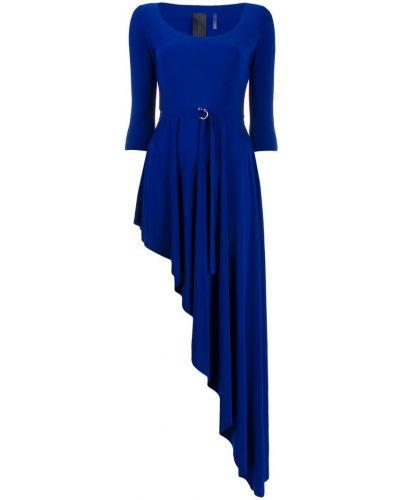 Платье с поясом двустороннее стрейч Norma Kamali