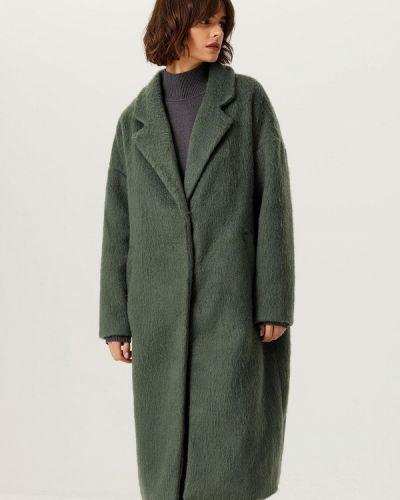 Пальто - зеленое Sela