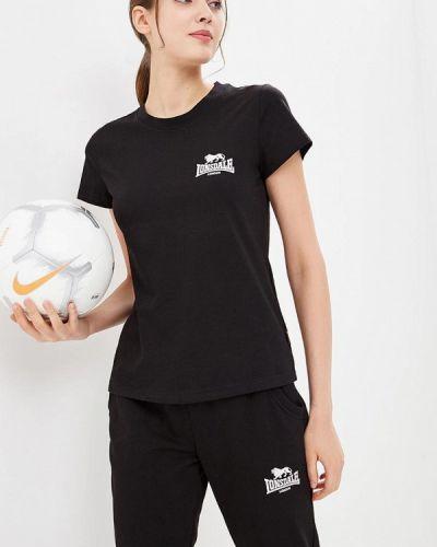Футболка черная Lonsdale