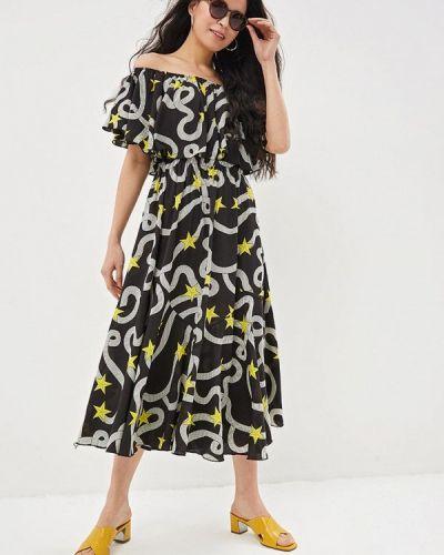 Платье весеннее с открытыми плечами Care Of You