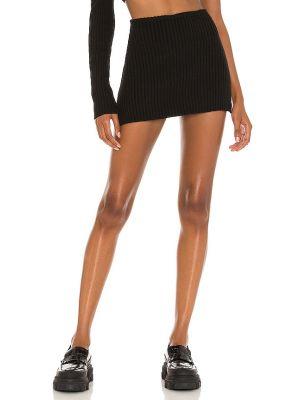 Czarna spódnica mini wełniana Danielle Guizio