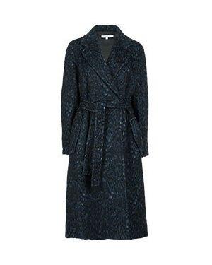 Пальто пальто синее Versace Collection