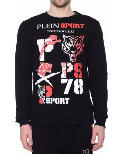 Черный джемпер Plein Sport