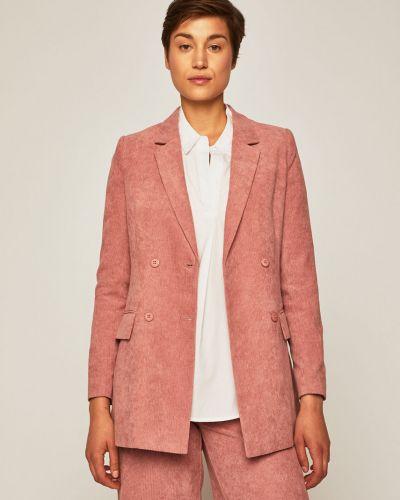 Классический пиджак прямой розовый Medicine
