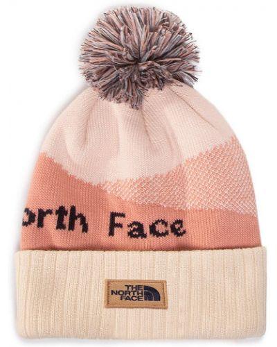 Różowa czapka beanie The North Face