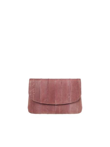 Fioletowy portfel skórzany Becksöndergaard