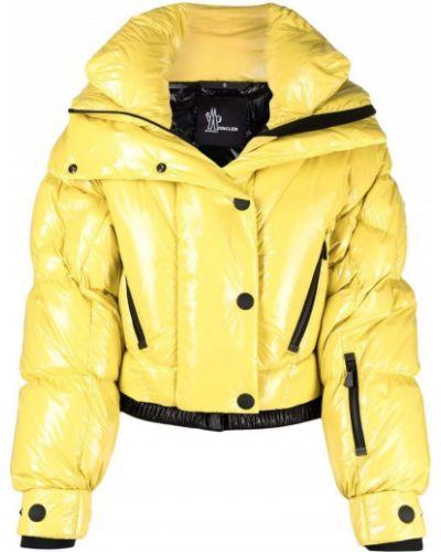 Żółta kurtka Moncler Grenoble