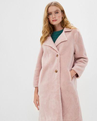 Розовая шуба Mallanee