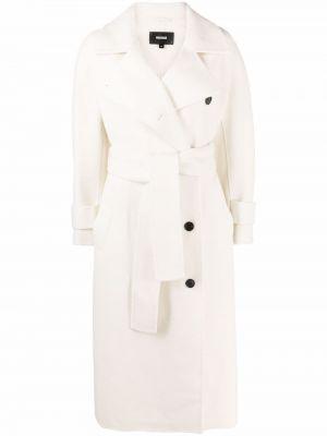 Шерстяное пальто - белое Mackage