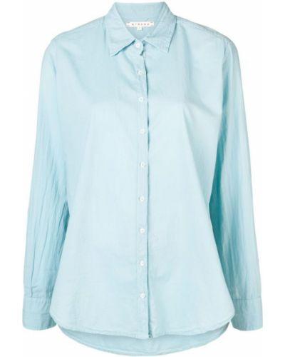Классическая синяя классическая рубашка на пуговицах Xirena
