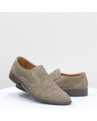 Кожаные туфли - коричневые Stylen Gard