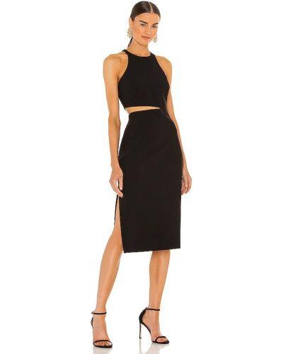 Платье с разрезом - черное Likely