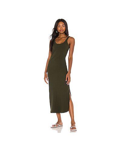 Текстильное платье миди милитари Vitamin A