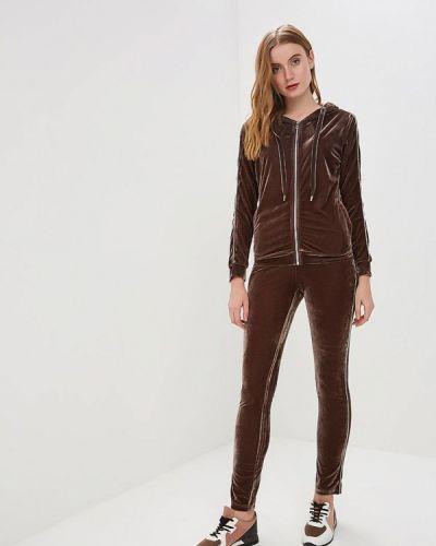Брючный костюм коричневый Conso Wear
