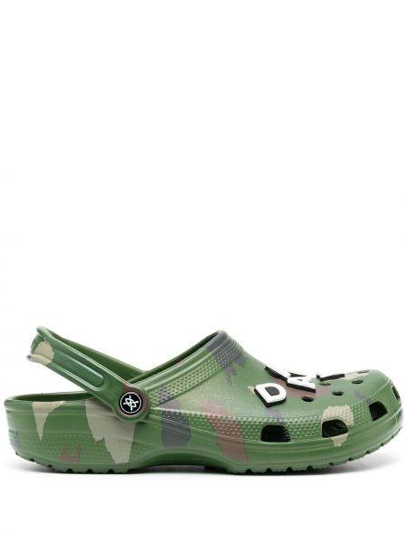 Chodaki, zielony Crocs