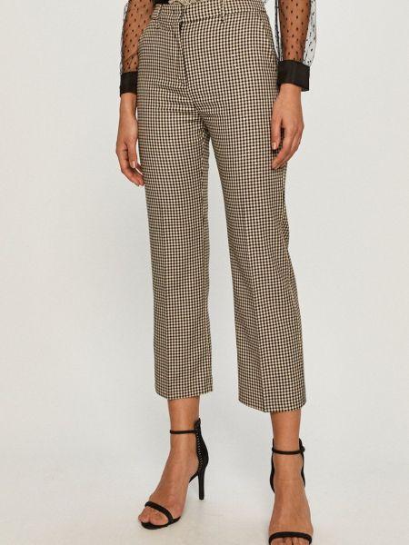 Тонкие прямые брюки на крючках Max&co