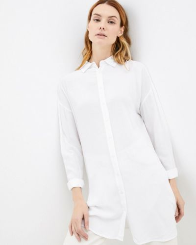 Блузка с длинными рукавами - белая Zabaione
