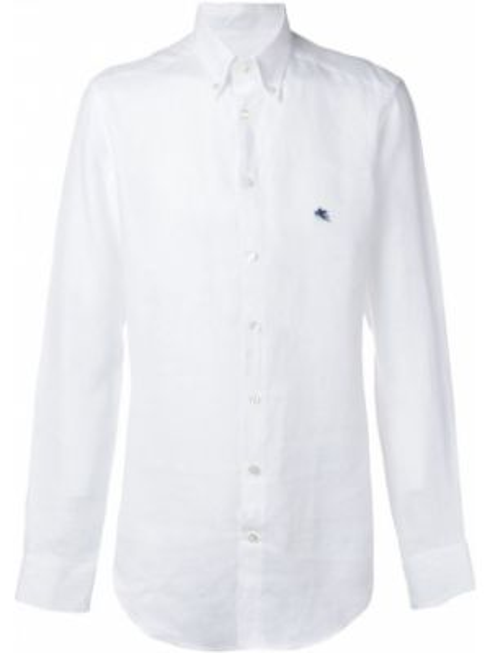 Koszula z długim rękawem z logo długa Etro