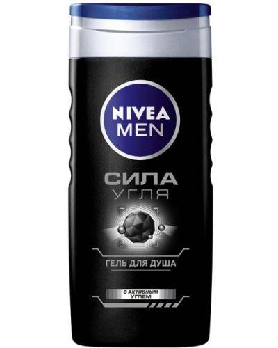 Черный гель для душа Nivea