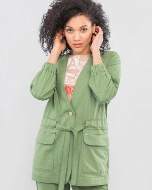 Пиджак - зеленый Maxa
