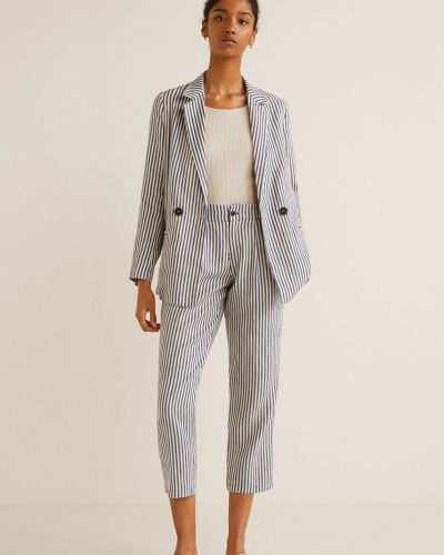 Классический пиджак в стиле кэжуал прямой Mango