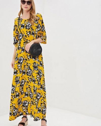 Платье желтый Unq