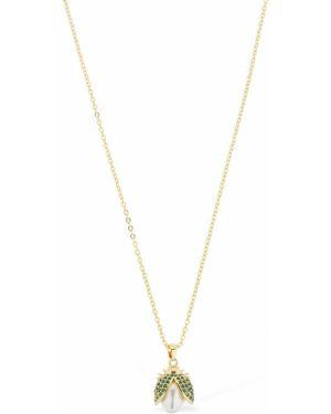Złoty naszyjnik perły Camila Carril