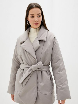 Коричневая демисезонная куртка Vera Nicco