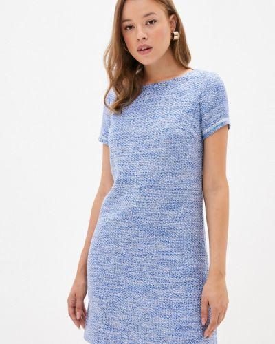 Повседневное синее платье Antiga