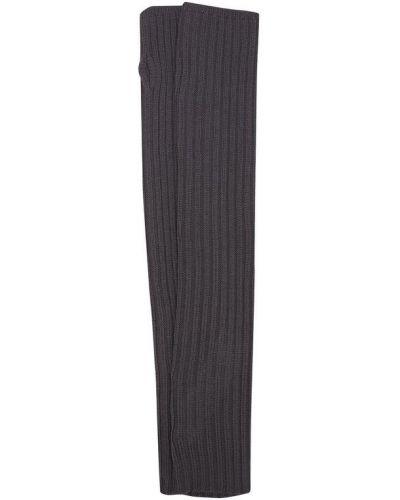 Перчатки вязаные шерстяные Rick Owens