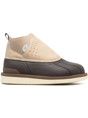 Кожаные ботинки - коричневые Suicoke