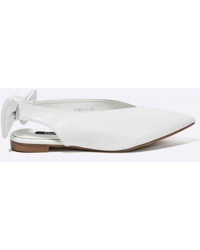 Белые балетки Answear