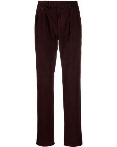 Spodnie bawełniane Lardini