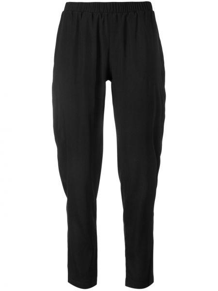 Черные брюки с воротником Le Tricot Perugia