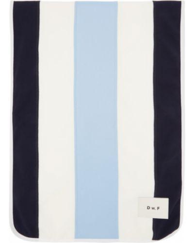 Niebieski szalik w paski Daniel W. Fletcher