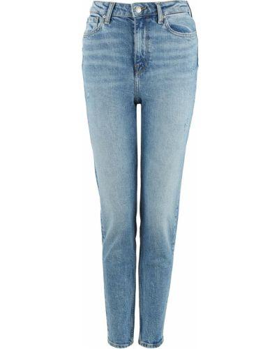 Синие зауженные джинсы-скинни Tommy Hilfiger