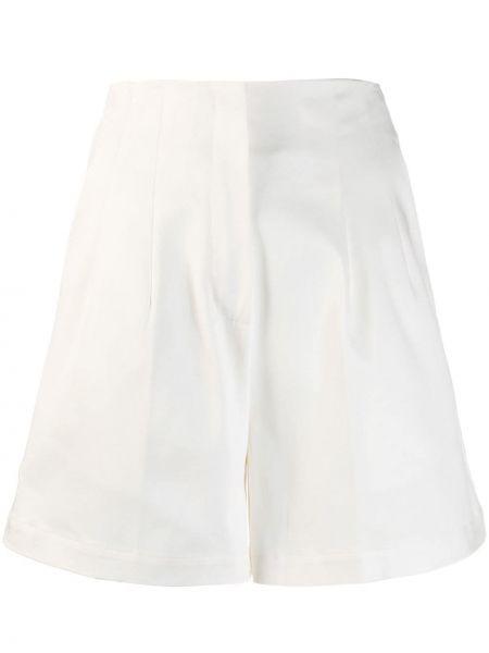 Белые шорты с карманами на пуговицах L'autre Chose