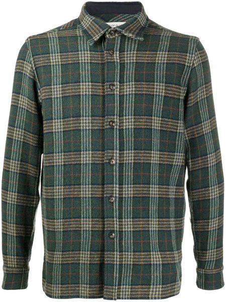 Классическая зеленая классическая рубашка с воротником на пуговицах A Kind Of Guise