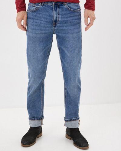Синие зауженные джинсы-скинни Springfield