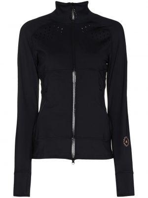 С рукавами черная спортивная куртка на молнии Adidas By Stella Mccartney
