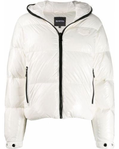 Куртка с капюшоном длинная укороченная Duvetica