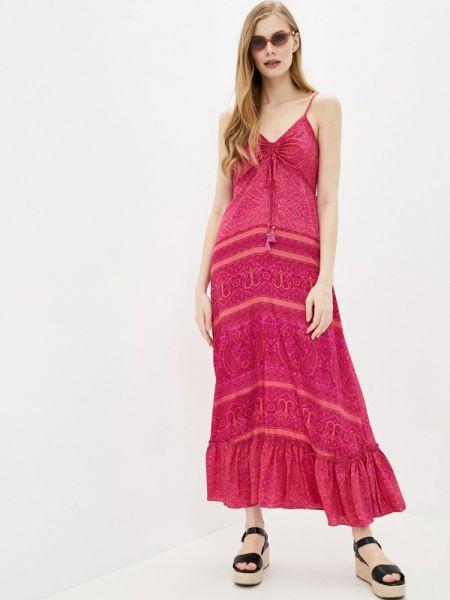 Розовое платье снежная королева