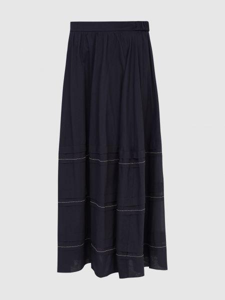 Синяя юбка макси Peserico