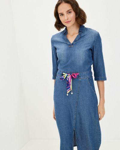 Джинсовое платье - синее Finn Flare