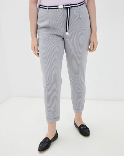 Синие брюки повседневные Zolla