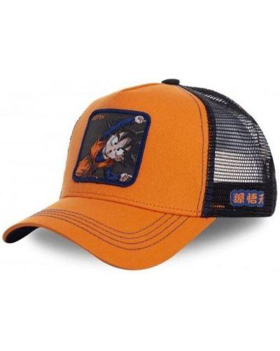 Pomarańczowa czapka Capslab